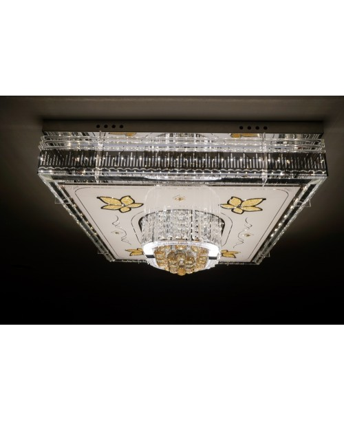 COVENTRY CEILING LIGHT GLASS STAINLESS STEEL  10 W 3000 K COLOR TEMP 0-10 V DIMMABLE -ARVICXL