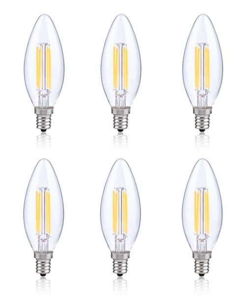 LONICERA SERIES LED FILAMENT BULBS 4 W AC 120 V 2700K WARM WHITE COZY LIGHT
