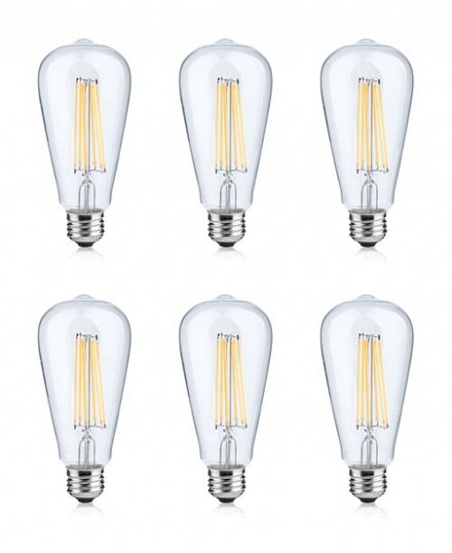 LONICERA SERIES LED FILAMENT BULBS 4 W AC 120 V 2700K WARM WHITE COZY LIGHT E-26 BASE