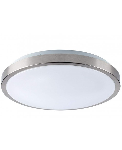 "8"" FLUSH MOUNT SINGLE RING LED LIGHT 12 W 840LM 4000K PMAA+STEEL DIMABLE"